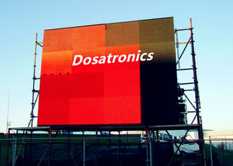 China High Brightness P8 mm Full Color Outdoor LED Billboard With 140° Viewing Angle supplier