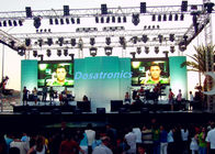 Large IP65 P7.2 Outdoor Stage LED Screens Module With 140° View Angle