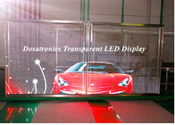 China P10mm Behind Glass Mounted LED Curtain Display LED Perimeter Boards factory