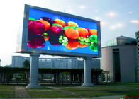 Custom IP68 SMD 3 In 1 P10 Outdoor LED Billboard Panel For Railways / Airports