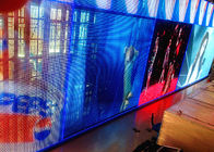 China Commercial P 10 LED Curtain Screen / LED Billboards For Entertainment Events factory
