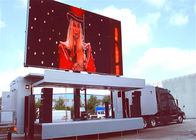 Outdoor Aluminum HD IP65 LED Truck Sign Mobile LED Screen With 140° Viewing Angle