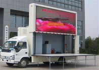 China Commercial Advertising Truck Mounted LED Screen P10mm LED Display factory
