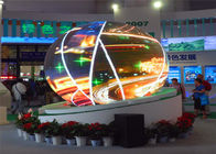 Aluminum SMD Spherical LED Display P4mm Indoor Full Color LED Screen