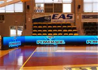 China Basketball Ground P6 Indoor Full Color LED Screen LED Perimeter Boards With CE / ROHS factory