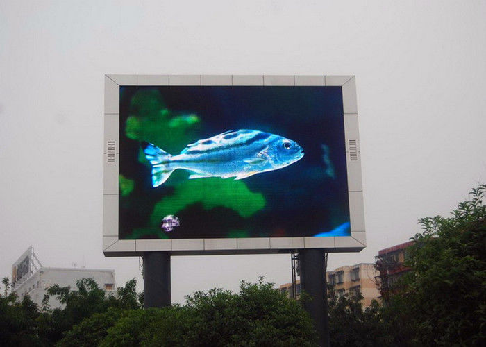 Commercial Advertising P10 Outdoor Led Screen Led Video