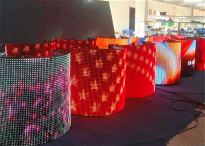 Soft Indoor Full Color Led Display P6 Led Module For