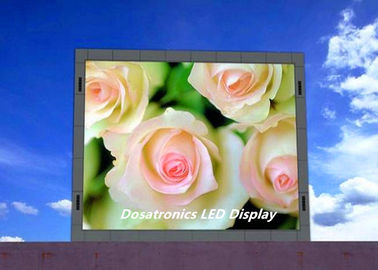 High Brightness Information Outdoor LED Screen P10mm For Bus Station / Schools