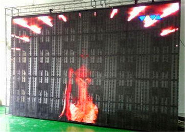 China Energy Saving Indoor Mesh P10 LED Video Wall Event / Concert Stage Background LED Screen distributor