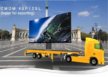 China Outdoor Full Color HD Video Mobile Truck Mounted LED Screen 27777 Pixels distributor