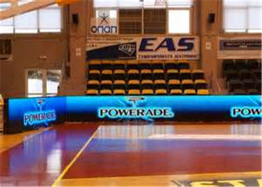 China Basketball Ground P6 Indoor Full Color LED Screen LED Perimeter Boards With CE / ROHS distributor